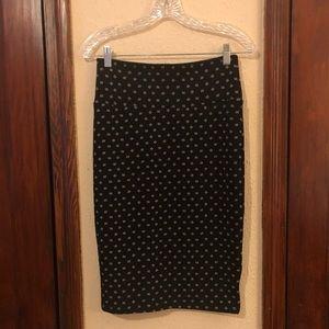 3 FOR $10❗️LuLaRoe Cassie Black Pencil Skirt